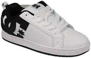 DC Court Graffik Shoe - White / Black / Black - New