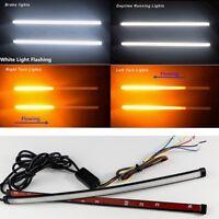 DIY Retrofit 2X Switchback Flowing Light Strip For Brake/Strobe Light Dual Color