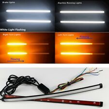 DIY Retrofit 2X Switchback Flowing Light Strip For Brake/Strobe Light Dual Color