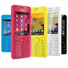 Unlocked Original Nokia 206 2060 Dual SIM MP3 1.3MP Camera Memory Card Phone