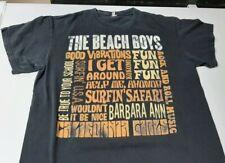 Vtg 1980s Beach Boys Concert Tour T Shirt sz Large