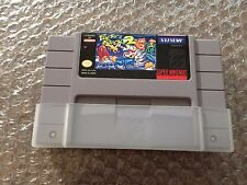 Pocky & and Rocky 2 II (Super Nintendo, SNES) Authentic cart - Tested