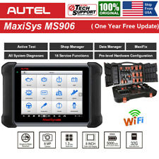 Autel MaxiSys MS906 Car Diagnostic Scanner Tool Full-System Scan IMMO Key Coding