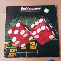 Bad Company STRAIGHT SHOOTER UK LP 1st Press A1U/B1U