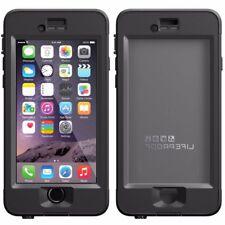 "Genuine Lifeproof Nuud Funda Impermeable a Prueba De Golpes iPhone 6 6S 4.7"" Negro"