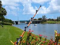 8' Custom Hammerhead Shark Rod, w/AFTCO Big Foot Roller Guides-Calstar Blank