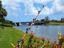 9' Custom Blue Fin Tuna Rod, Calstar Blank, Aftco Big Foot Roller Guides -130 lb