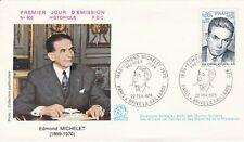 FRANCE 1975 FDC EDMONT MICHELET YT 1825