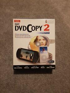 Roxio Easy DVD Copy 2 Premium Copy CD's & DVD's,