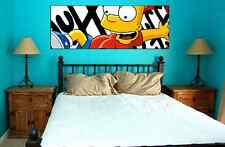 BART SIMPSON collectible poster wall art the simpsons homer cartoon tv show