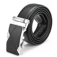 Luxury Men's Leather Automatic Buckle Belts Fashion Waist Strap Belt Waistband