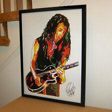 Kirk Hammett, Metallica, Lead Guitar, Heavy Metal Guitarist,18x24 POSTER w/COA 2