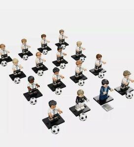 Lego 71014 DFB Mannschaft Germany Football Team Complete Set 16 Minifigures CMF