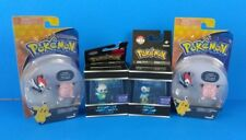 Lot of 4 New TOMY Pokemon Toy Sets Action Figures