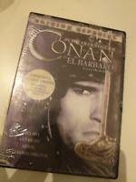 DVD  CONAN EL BARBARO CON SCHWARZÉNEGGER(precintado nuevo)