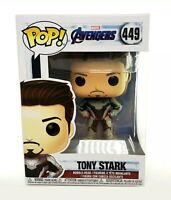 Funko Pop! MARVEL Avengers Endgame Tony Stark #449 Vinyl Collectible