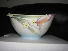 Franz Porcelain Papillon Butterfly large salad bowl/bowl NEW boxed