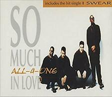 So Much In Love / I Swear (French Import), All-4-One, Used; Good CD