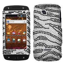 Zebra Crystal Bling Case Cover for T-Mobile Sidekick 4G