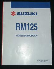 SUZUKI RM 125 Bj.05 Reparaturanleitung-Handbuch nur 29,90,-