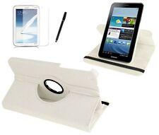 Hülle f Samsung Galaxy Tab pro 8.4 SM-T320 Leder-Imitat Tasche Case Cover  weiß
