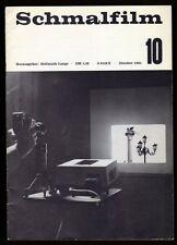 █ LANGE Hellmuth SCHMALFILM 1964 Fachzeitschrift für Schmalfilmfragen █