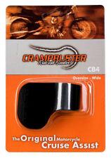 Crampbuster Motorcycle Throttle Cruise Assist Rocker 4 Oversize Wide Black CB4