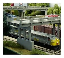 Rix (N-Scale) #628-0151 Overpass Parts -- Early Highway Overpass Only - NIB
