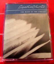 Agatha Christie The Body In The Library Miss Marple 2-Tape Audio Bk Ian Masters