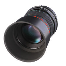 85mm F/1.8 Portrait Lens for Canon EOS 7DII 6D 5DIII 5DIV 80D 60D 750D T3i T5 T3