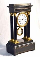 ANTICO OROLOGIO PENDOLO TEMPIO JAPY FRERES SCULTURA TAVOLO PARIGINA TEMPLE CLOCK