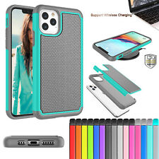 Shockproof Rubber Silicone Hard Case Cover For iPhone 11 Pro Max 7 8 6s Plus 5S