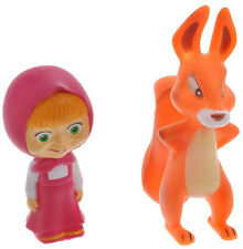 Masha and the Bear /Masha and the squirrel. - Set of 2 toys for bath= new