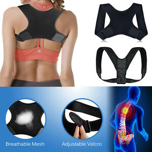 Posture Correction Back Shoulder Corrector Support Useful Therapy Men&Women Hot