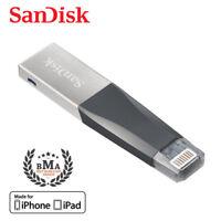 SanDisk iXpand Mini 32GB Lightning USB Flash Drive für iPhone iPad Zertifizier