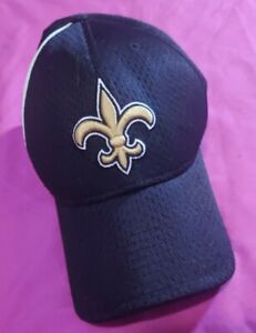 New Orleans Saints NFL Adjustable Strap Hat Cap Black