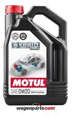 Motul aceite lubricante motores Hibridos Hybrid 0w20 4L