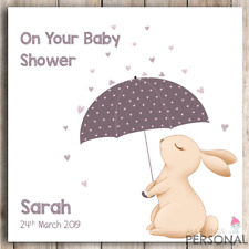 Personalised Baby Shower Card Friend Sister Colleague Daughter Mummy To Be Card
