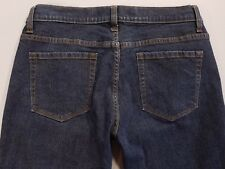 "GAP PERFECT BOOT Dark Wash Stretch LOW RISE Boot Cut Jeans Size 8 (30 x 27"")"