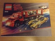 Lego Speed Racer 8160 Cruncher Block and Racer X - instructions only