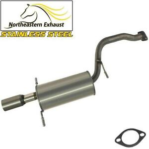 Exhaust Muffler Tail Pipe  compatible with : 1996-1999 Subaru Legacy