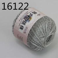 1ballx50g New Soft Hand Cotton Lace Wool Yarn Crochet Shawl Scarf Knitting 22