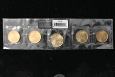"2010 Canada. $1. Loonie Five Pack ""Saskatchewan Roughriders"". Mint Sealed."