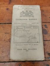 Antique Ordnance Survey Map Of Guildford And Godalming 1911