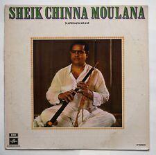 Sheik Chinna Moulana - Nadhaswaram 1975 Gramophone Co. of India S/33ESX 6104