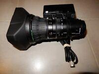 Fujinon XT17sx4.5 BMD DSD EXCEED f/1.6 17X / 1/3″ 4.5-7mm HD ENG Lens JVC Camera