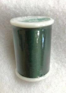 CLOVER - TIRE SILK 50wt thread - Holly Green 109 yard spool # 701 color 118 NEW!