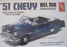 1951 CHEVROLET '51 CHEVY BEL AIR CONVERTIBLE 2N1  AMT 608 WRAPPED 1:25 KIT
