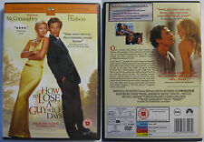 HOW TO LOSE A GUY IN 10 DAYS PARAMOUNT UK REGION 2 PAL DVD
