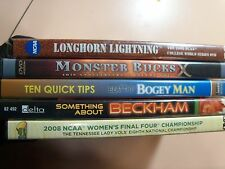 Lot Of 5 Sports Related Movies DVDs: basketball/golf/hunting/baseball/soccer.